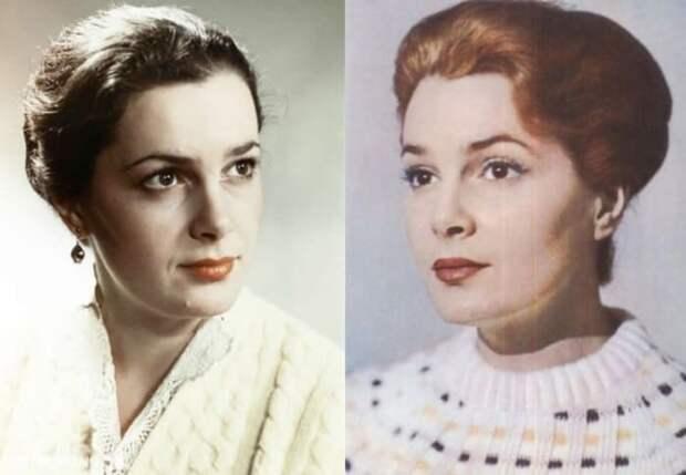 Одна из самых красивых актрис советского кино | Фото: elina-bystritskaya.ru