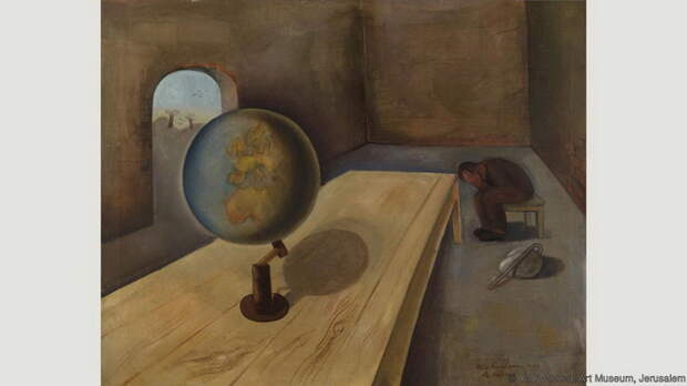 Феликс Нуссбаум, *Беженец*, 1939