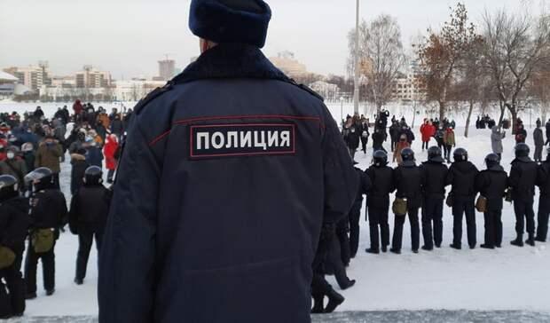 В Екатеринбурге двух  участников митинга подозревают в нападении на полицейских
