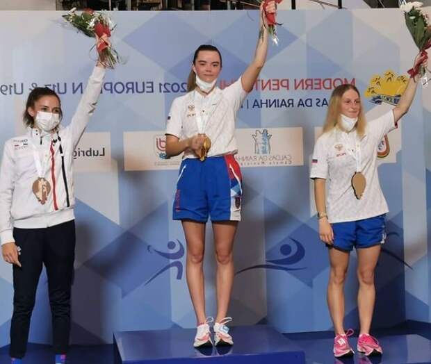Спортсменка из Северного завоевала золото на первенстве Европы по многоборью