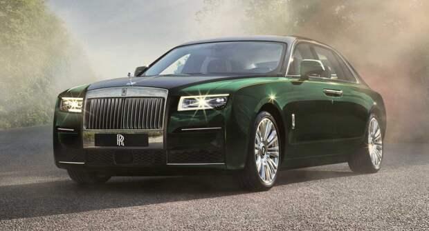 Rolls-Royce представил длиннобазную версию Rolls-Royce Ghost