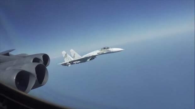 ВВС США заявили о непрофессиональных действиях российских лётчиков