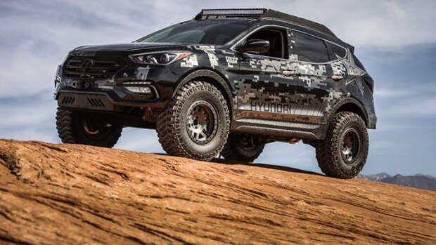 Тюнинг-шоу в Лас-Вегасе – крутые экспонаты Hyundai