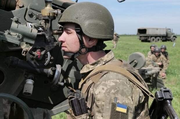 Украина провела рядом с Крымом военные учения