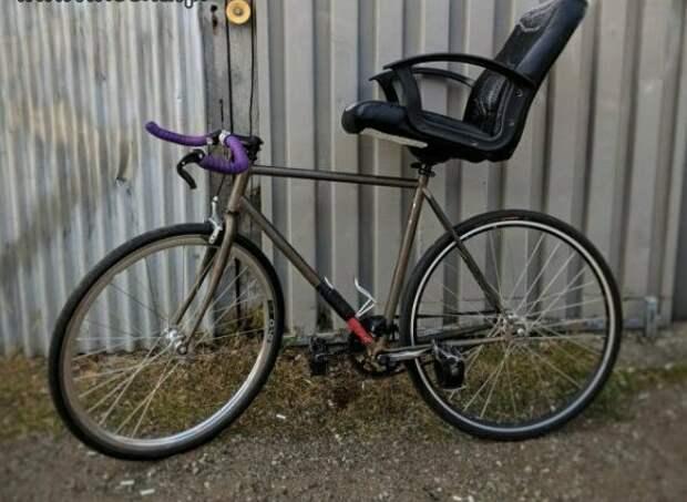 У — удобство WTF?, wtf, велосипеды, необычное, подборка, странное, транспорт