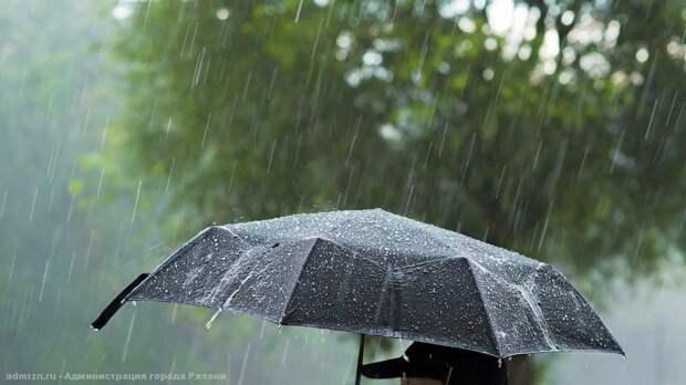 Орловчан предупредили о теплых дождях
