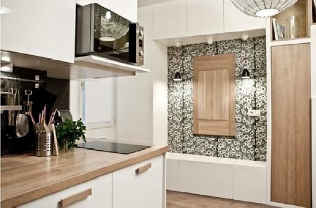 Крутое решение для оформления кухни с помощью оригинального её декорирования.