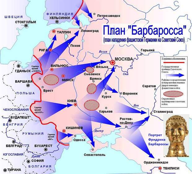 Как готовилось вторжение евреев в Россию, и что из этого вышло...