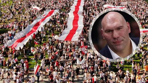 Валуев — о протестах в Белоруссии: «Никогда не поддержу избиение людей силовиками. Но беспорядки — это незаконно»