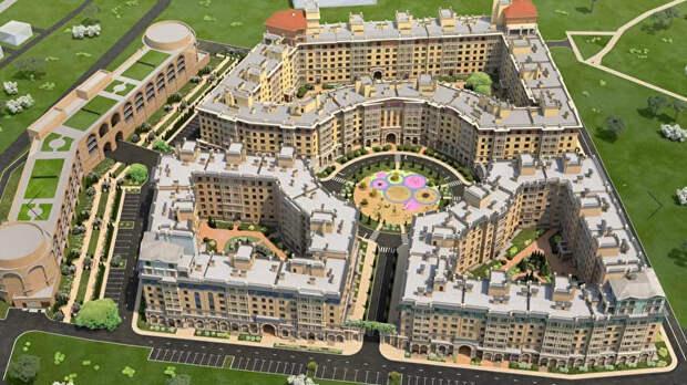 В Керчи инвестор вложит более 1 миллиарда рублей в жилищный комплекс… с элементами античности