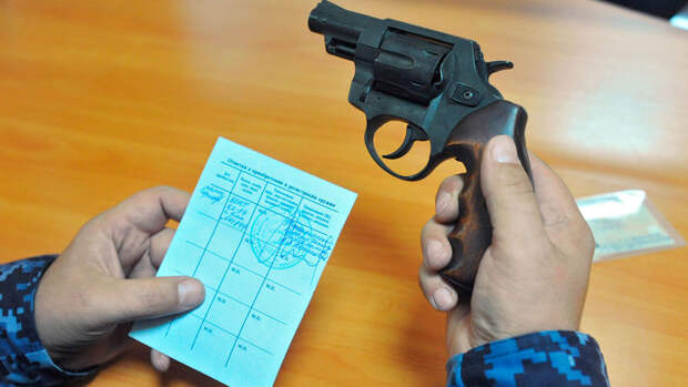 Минздрав планирует предоставить Росгвардии доступ к справкам на оружие