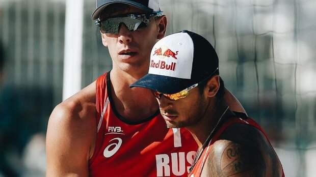 Русские волейболисты не оставляют соперникам шансов на песке