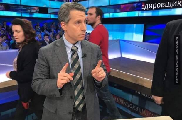 Затулин в прямом эфире поставил на место Майкла Бома за обвинения в адрес России