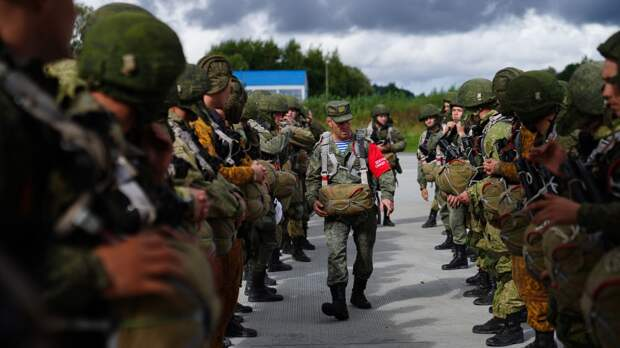 Третий штурмовой полк сформирован в составе Псковской дивизии ВДВ