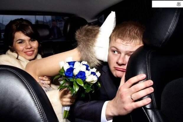 Прикольные свадебные торжества 31