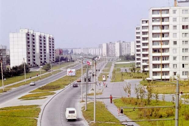 Девять и пять этажей строили не просто так. /Фото: rambler.ru