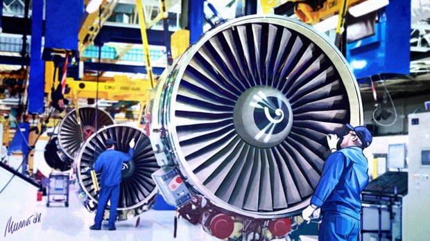 Россия готова представить новый авиадвигатель с уникальными особенностями