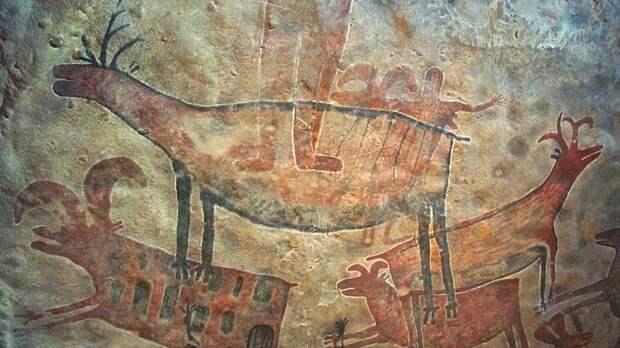 Самые большие изображения быков обнаружили на скале в Португалии