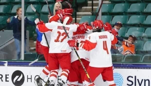 Сборная России врезультативном матче победила Финляндию ивышла вфинал юниорскогоЧМ