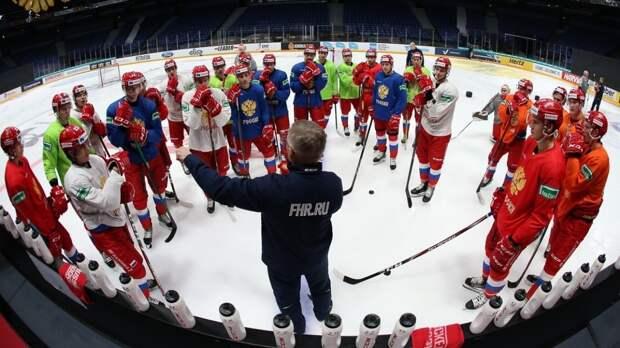 Цвета сборной России на ЧМ по хоккею будут защищать семь игроков НХЛ