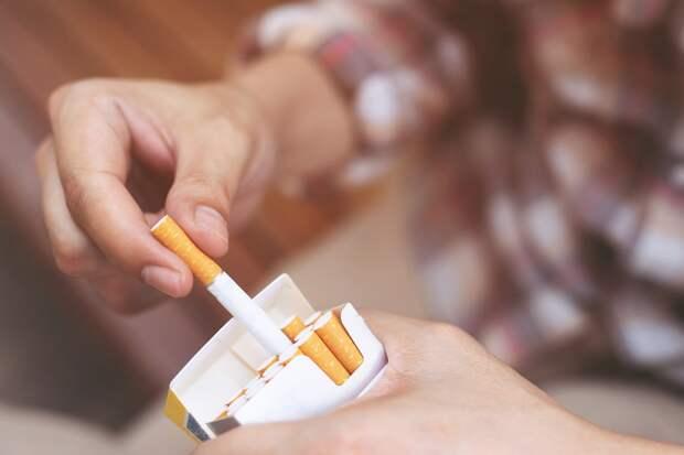 Признаки никотиновой зависимости