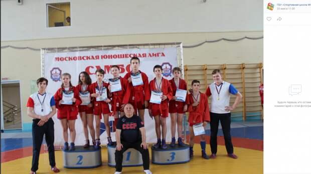 Самбисты из Некрасовки завоевали гору призов городского турнира