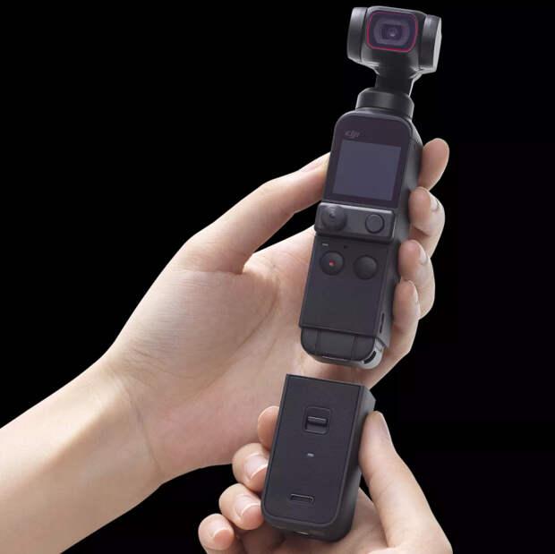 Представлена компактная камера DJI Pocket 2 со стабилизатором: модульная конструкция, больше микрофонов и выше качество