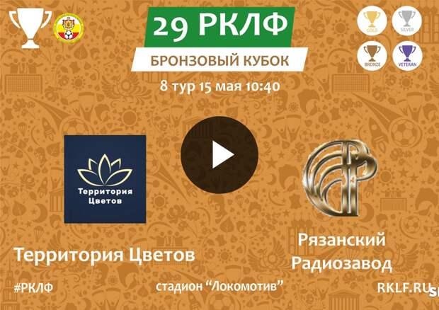 29 РКЛФ Бронзовый Кубок Территория цветов - Рязанский Радиозавод 3:2
