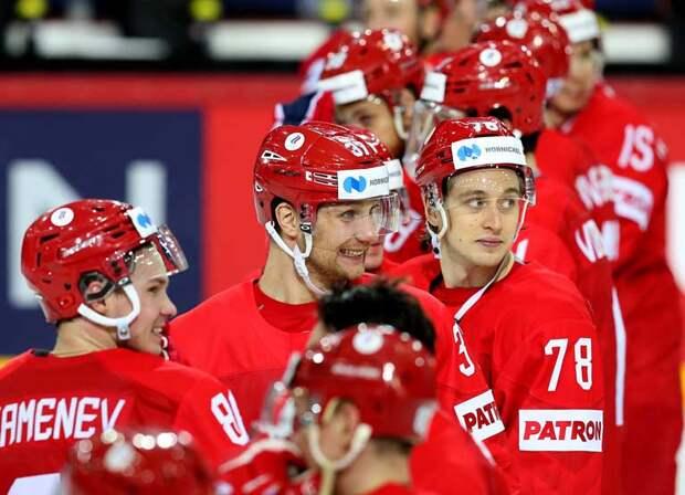 Россия раскатала Белоруссию, заняла первое место в группе. Матч с Канадой в четвертьфинале нам обеспечила Германия