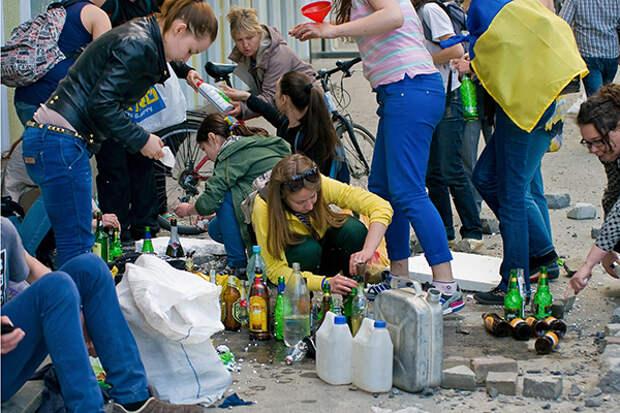В Киеве — три Майдана, в Минске — два… пока