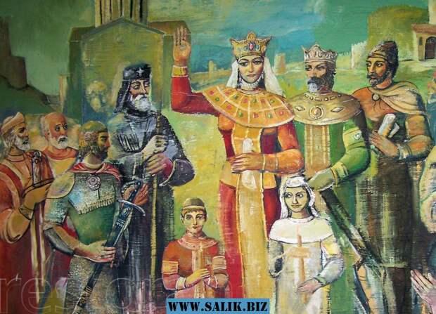 За что царица Тамара выгнала своего русского мужа