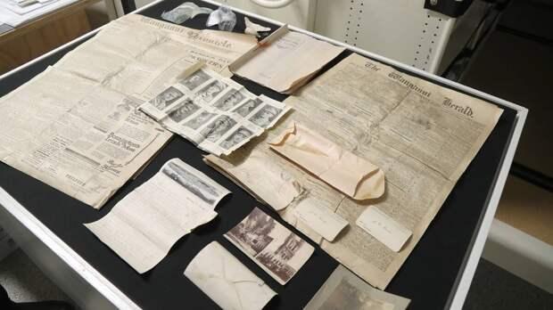 Строитель нашел в стене послание из 1918 года. Что в нем было?