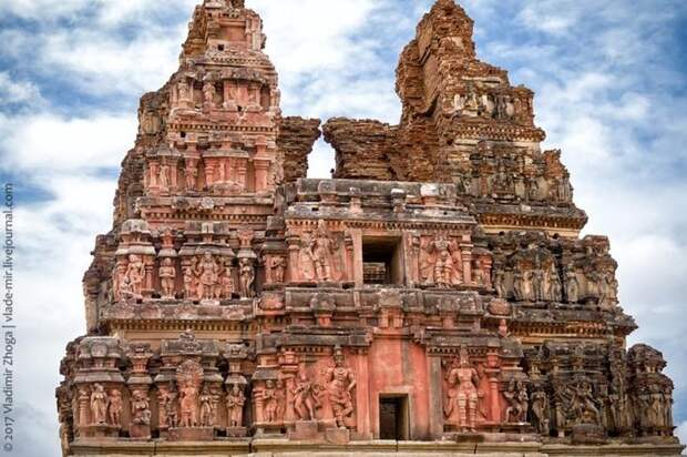 Хампи - руины великой империи в сердце Индии-22 фото-