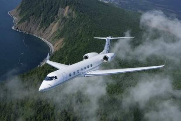 Реактивный самолет Gulfstream