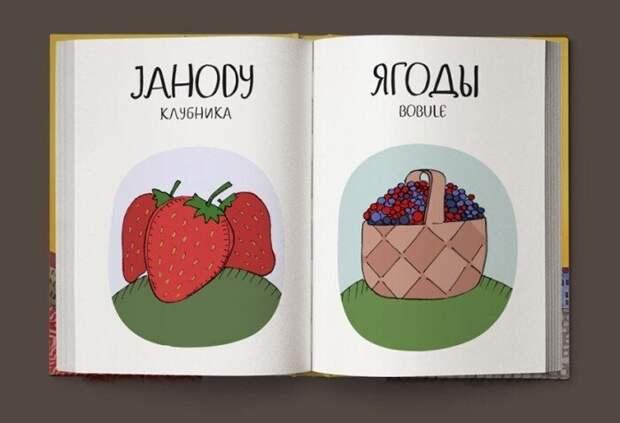 Веселый чешско-русский словарь. Скартинками