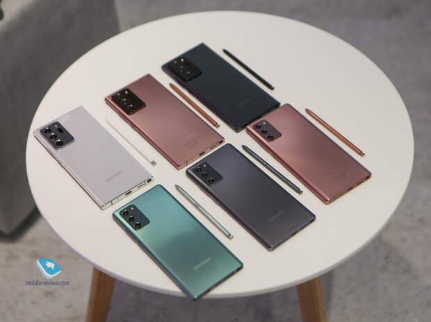 Samsung Unpacked 2020 - смартфоны, планшеты и аксессуары