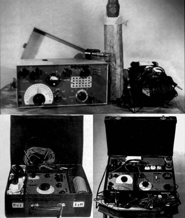 Немецкие  агентурные  радиостанции
