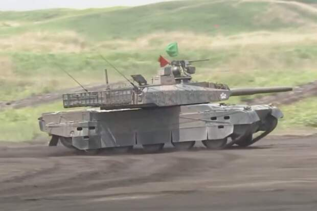 На что способен японский танк Type-10: видео