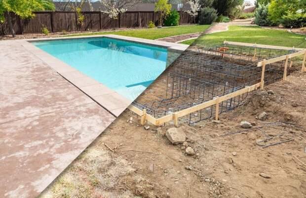 Как построить бассейн: отдых в своем дворе