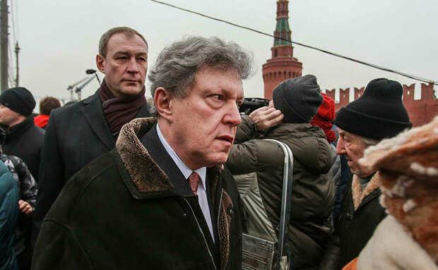 У Явлинского прихватило сердце после выборов
