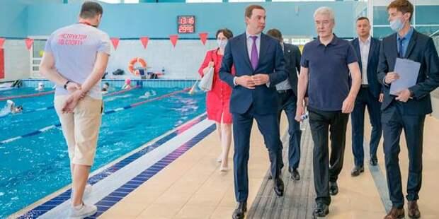 Собянин: За 10 лет в Москве построено свыше 140 крупных спортивных объектов