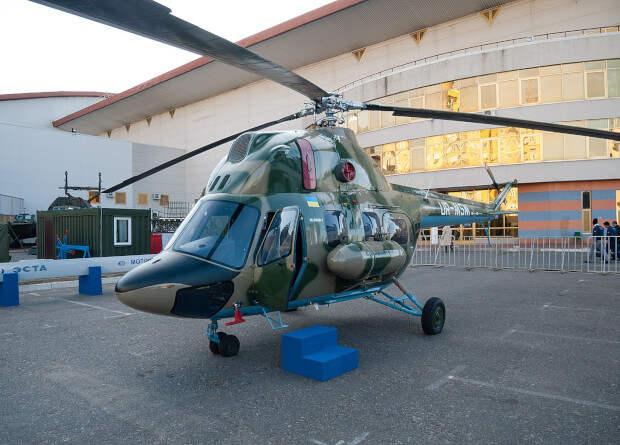 Украинцы превратят многоцелевой вертолет Ми-2 в палубный