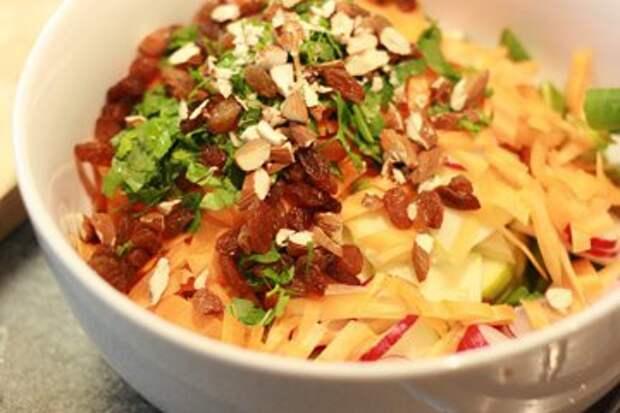 Рецепты постных блюд. Рецепт овощного салата  — Рецепты Джейми Оливера
