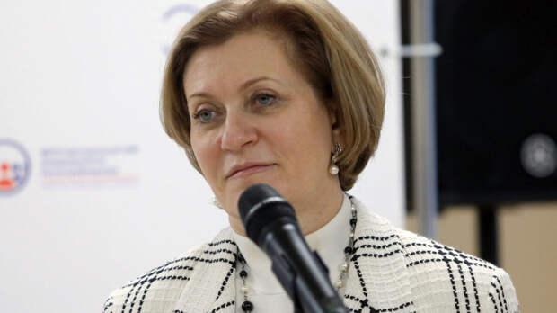 Попова назвала регионы с наибольшими темпами роста заболеваемости