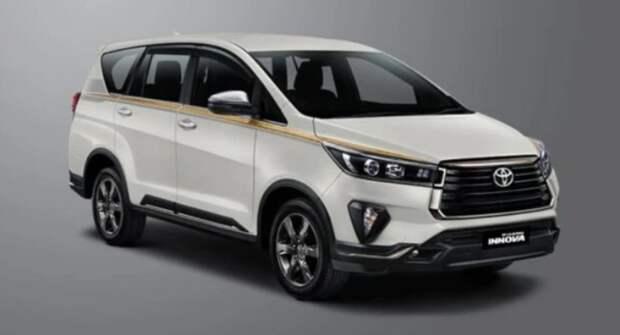 Toyota выводит на индонезийский авторынок Innova 50th Anniversary Edition
