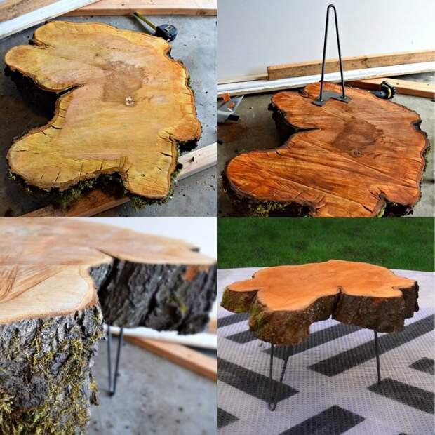 дизайн мебели из дерева