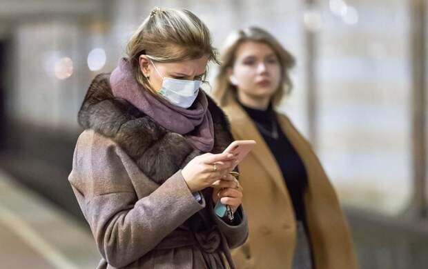 Продажа медицинских масок началась на станции «Сокол» Фото с сайта mos.ru