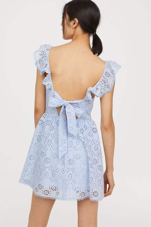 как сделать спинку летнего платья