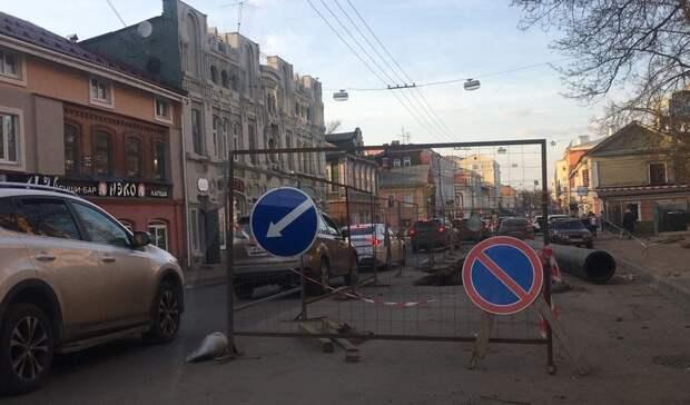 Список пополнился: еще одну улицу закроют для проезда вНижнем Новгороде