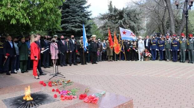 В Феодосии отмечают 76-годовщину Победы в Великой Отечественной войне